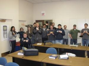 CPSC 401 class portrait; February 16, 2010